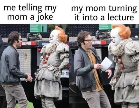 Bill Hader Running From Pennywise Is The It Meme Right Now In 2020 Funny Memes Funny Horror Funny Relatable Memes