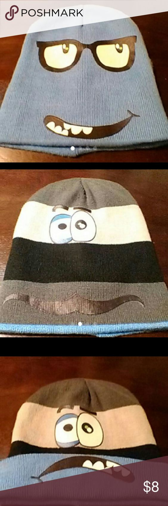 Boys reversible beanie Can make different faces with beanie since its reversible see pictures Accessories Hats