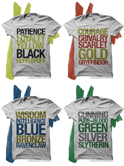I need the Slytherin one.....
