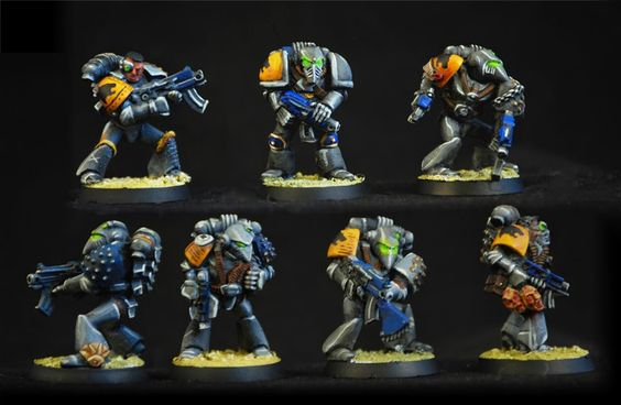 Spiraling Cadaver's big 40k blog - starting with space hulk - Page 4