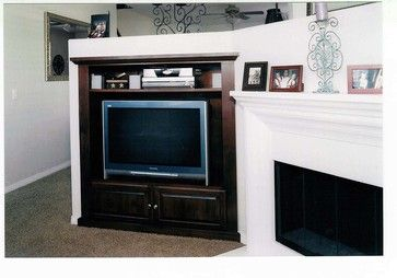 Pacific Coast Custom Design. Entertainment Centers & Built-in Niches. Short media niche