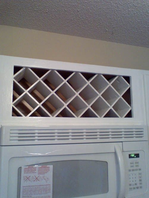 Wine Rack Above Microwave Google Search Projects To