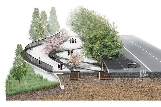 Architecture landscapes and world on pinterest for Tract landscape architects