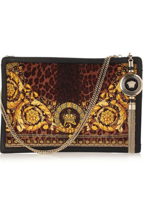 31 VERSACE BAGS: Bags Clutches Purses Luggage, Leopard Print, Purses Handbags Etc, Versace Bag, Clutch Tote Purse Handbags, Handbags Clutches, Fantasy Handbags, Handbags Leopard Purses
