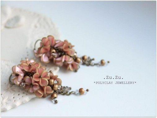 Motýlie kvety. by .Zu.Zu. - SAShE.sk - Handmade Náušnice