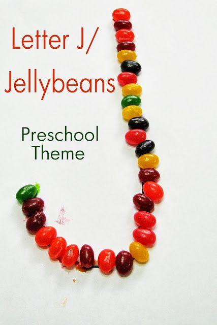 Mommy's Little Helper: Letter J/Jellybeans Preschool Theme