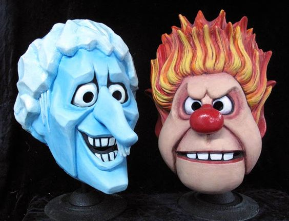 Rankin/Bass-historian: Miser Bros Halloween masks are In-Stock!  You can ...