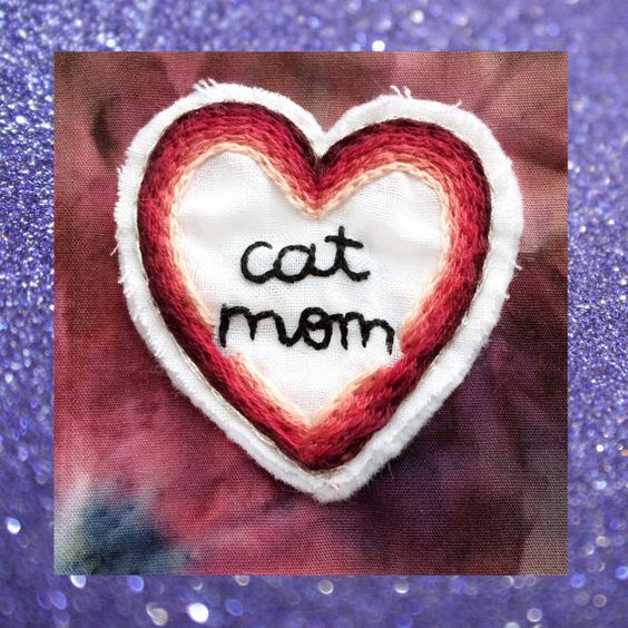 Cat Mom Patch