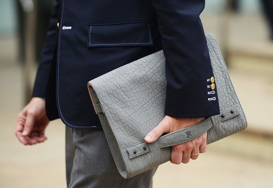 Handbag    from Tommy Ton's Street Style: New York Fashion Week Spring 2013: Style: GQ
