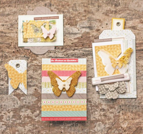 Envolée de Papillons  Mercredi Inspiration  Blog Kesi'Art