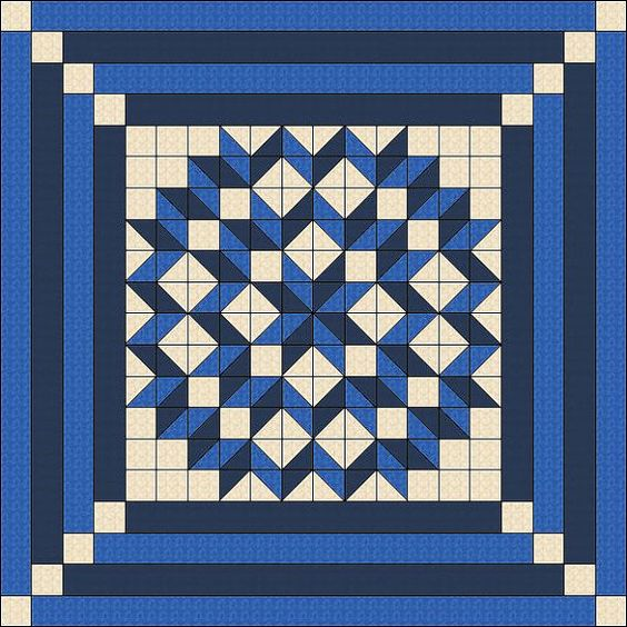 Mega quilt blocks - one block the size of a lap quilt - instructions, Patterns?