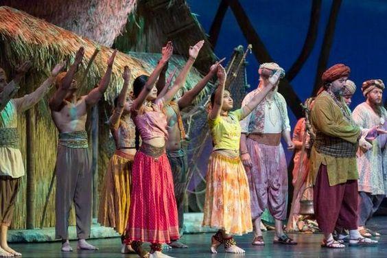 'Los pescadores de perlas', de Bizet, en una producción de The Florida Grand Opera, se presenta en el Arsht Center hasta el 7 de marzo.