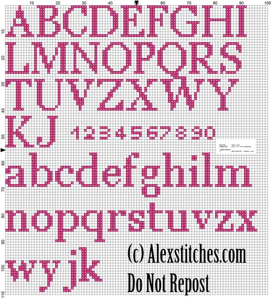 Hello Kitty Birth record free cross stitch pattern (2)