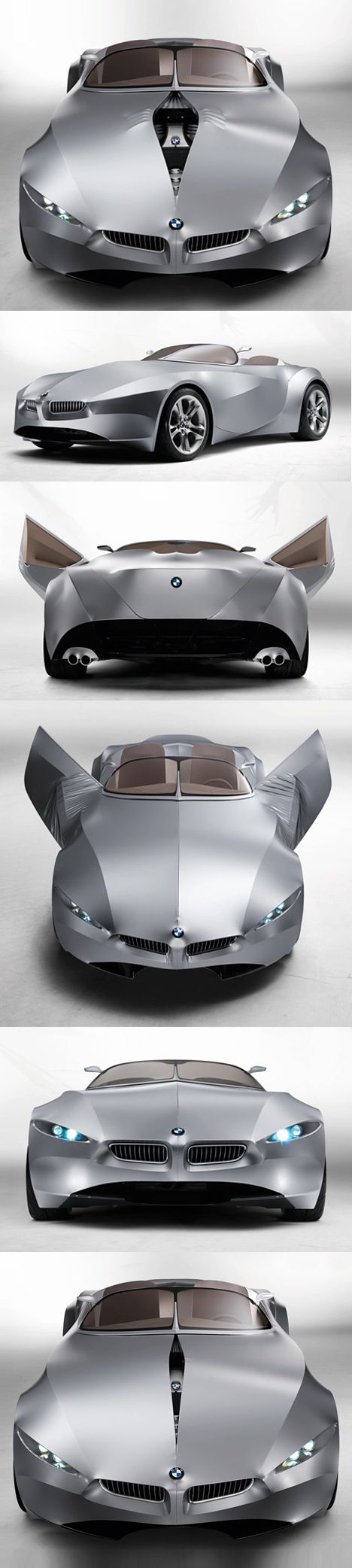 ♂ Silver car GINA Light Visionary Model by BMW http://www.dezeen.com/2008/06/11/gina-light-visionary-model-by-bmw/