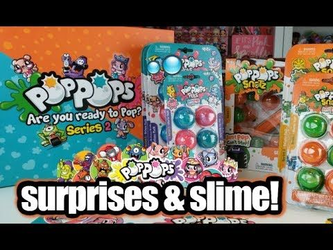 Pop Pops Slime Toys Pop Pops Pets Pop Pop Snotz Series 2 Pet Pop Slime Toy Pop