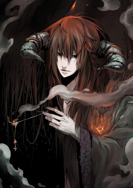 Demon Anime Boy