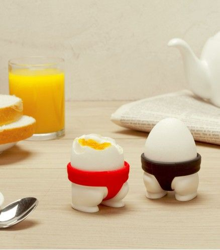 Achetez un coquetier en forme de Sumo sur lavantgardiste. Dénicheur d'originalité.: