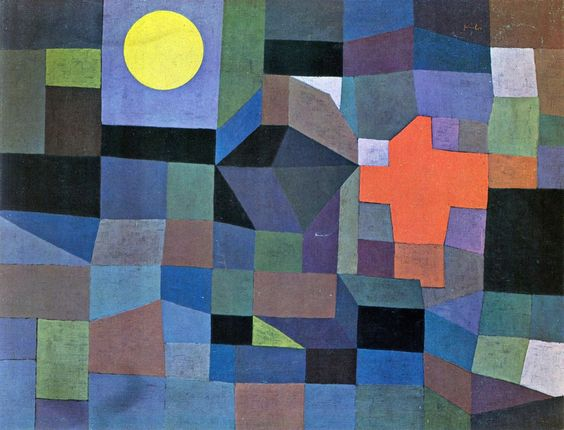 Paul Klee. Fire at Full Moon, 1933