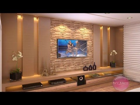 200 Modern Tv Cabinets Living Room Wall Decorating Ideas Youtube Tv Wall Design Living Wall Decor Tv Wall Decor