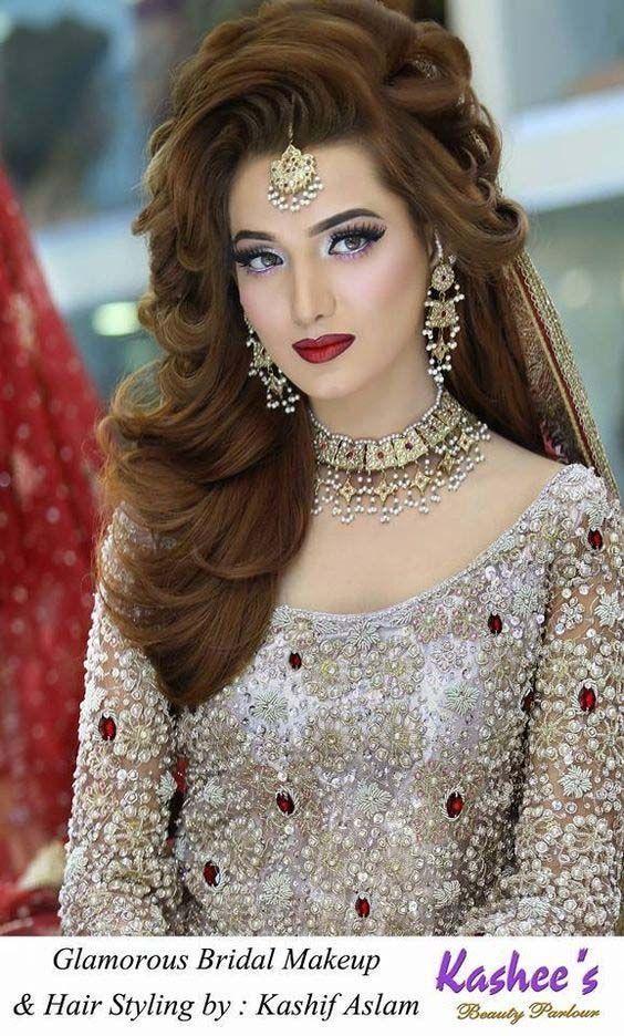 Frisur 2019 Pakistanisch Pakistanibridal Indianwedding Frisurenfashion 20182019 Furbridals Indischehochze Make Up Braut Braut Make Up Verlobungs Frisuren