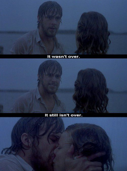 I reluctantly joined the masses and fell in love with this movie. It's perhaps the greatest kiss/love scene ever.
