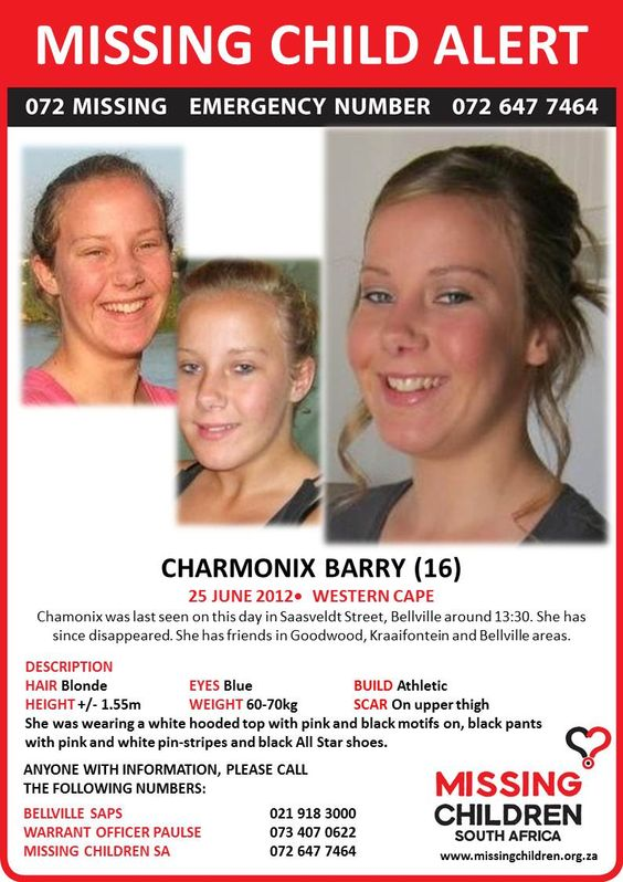 missing children from 2012 | Labels: Missing Child Alert: Charmonix Barry