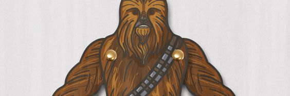 Simply download the file by clicking the link below. Then just print, cut and assemble, or Chewie would have said; AHHHHHWWW!