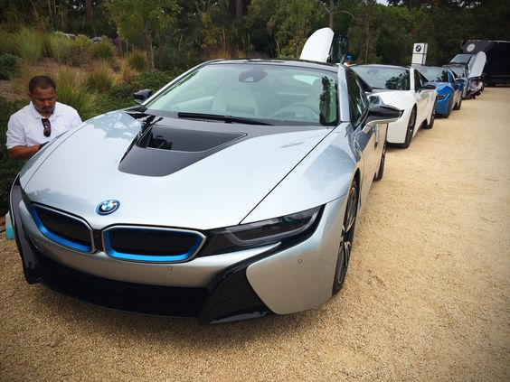 BMW delivers first i8 coupes at Pebble Beach - Pursuitist #bmw