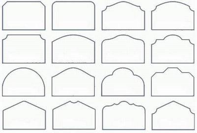 Headboards shapes