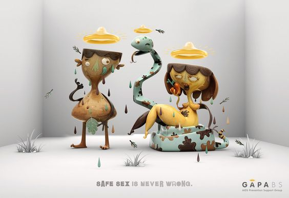 AIDS PREVENTION CAMPAIGN by Lucio Regner