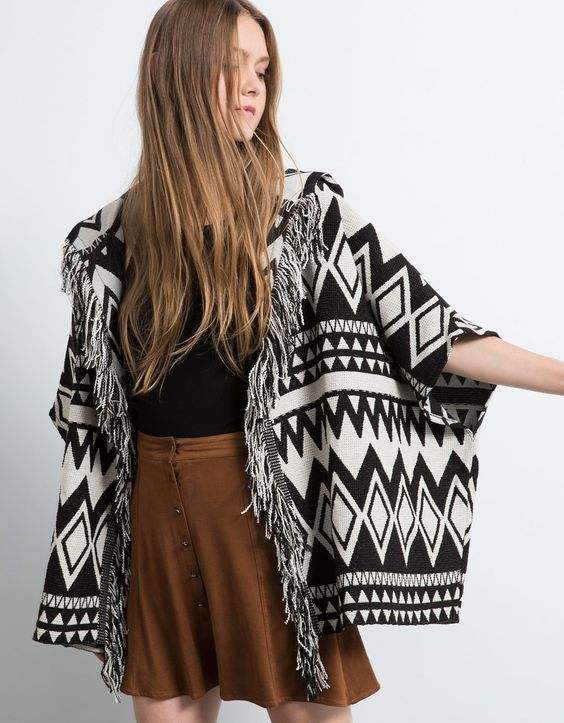 Discover our new Capes and Ponchos in our stores and online at www.bershka.com