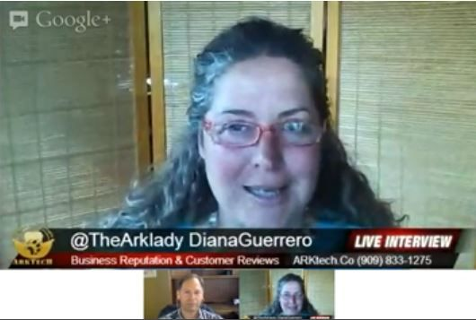 @Diana Avery Guerrero discusses #reputation learn more in this #webucation #video >> #webucation, reputation, repmktg, #arktech --> http://arktech.co/business-reputation-customer-reviews