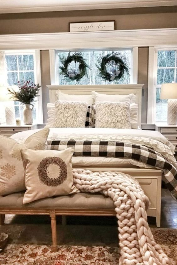 Pin By Meaghan Torres On Bedroom Ideas In 2020 Master Bedrooms Decor Remodel Bedroom Farmhouse Bedroom Decor