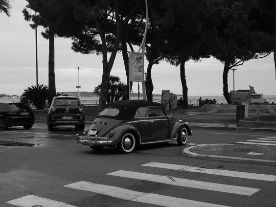 vw beetle  la croisette Cannes