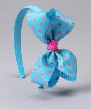 Look what I found on #zulily! Cutie Pie Kid Turquoise Abbie Headband by Cutie Pie Kid Couture #zulilyfinds