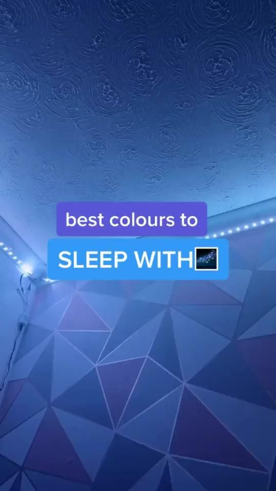 Best Colors To Sleep With Colors Sleep In 2020 Led Lighting Bedroom Led Room Lighting Diy Led Lighting Ideas