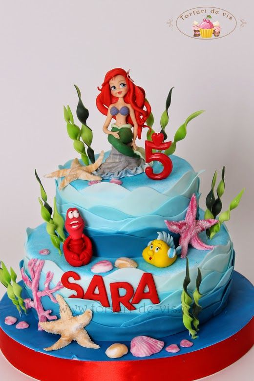 Rapunzel Tier Cake