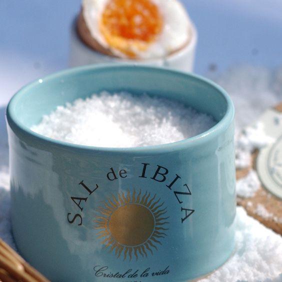 Pack Tarro Flor de #Sal de #Ibiza y Bolsa Flor de Sal Rellenable