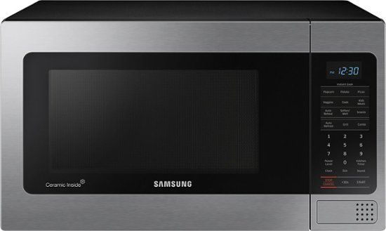 Samsung 1 1 Cu Ft Countertop Microwave With Grilling Element