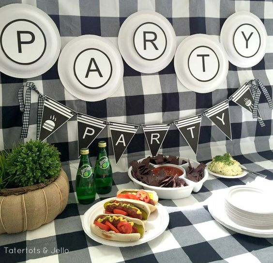 Summer bbq party ideas and printables ideas bbq party for Food bar hadfield