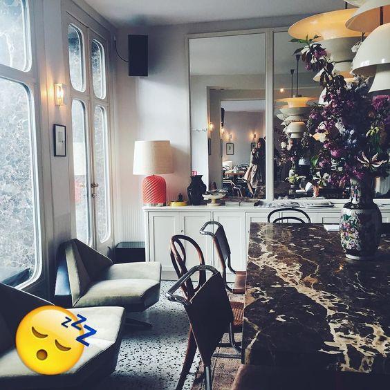 to sleep.  Le pigalle paris #interior #inspiration #interiordesign #sleep #lppcityguidetoparis #hotel #tosleep
