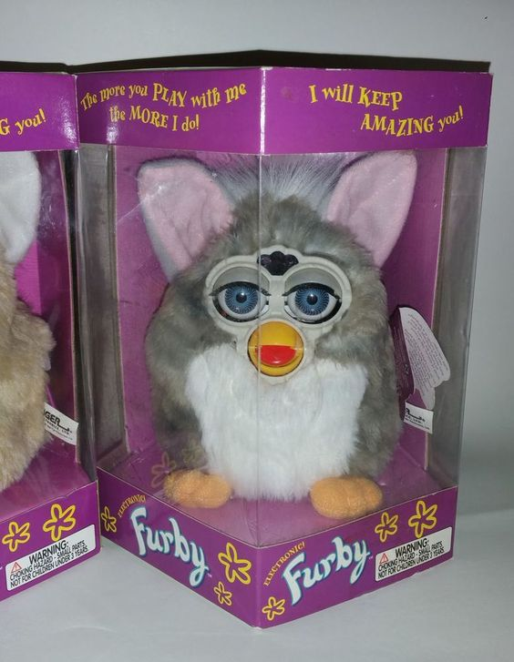 Original Vintage 1998 FURBY Lot 90's Toys Limited Edition RARE Tiger Electronics #TigerElectronics
