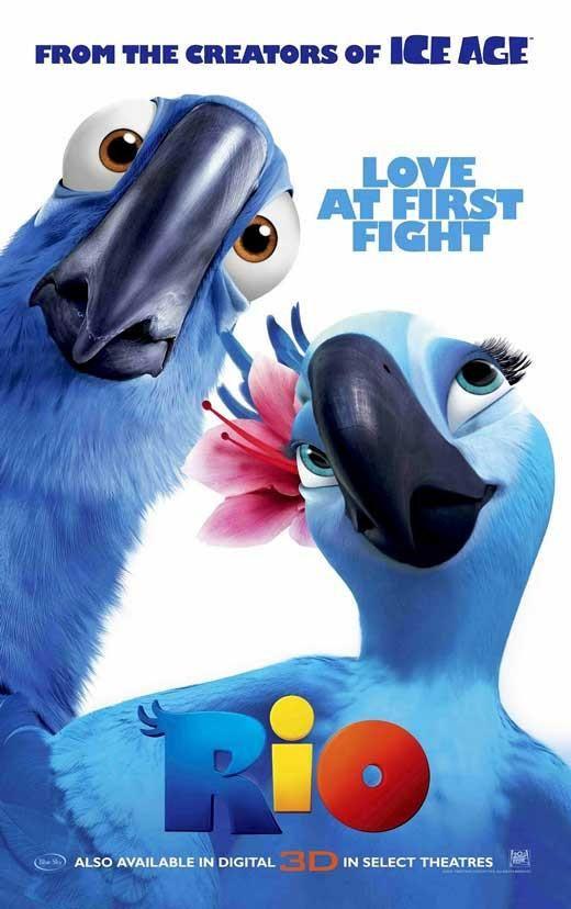 Rio 27x40 Movie Poster 2010 Rio Movie Kids Movies Movie Posters