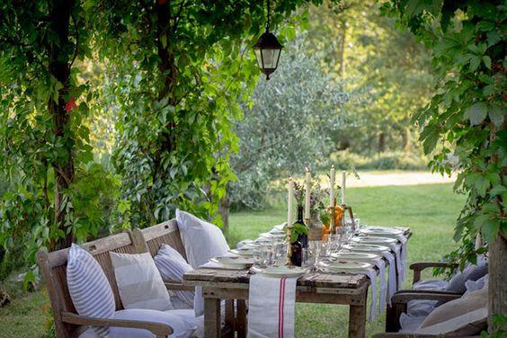 Pequeños placeres: cena de verano | Decorar tu casa es facilisimo.com