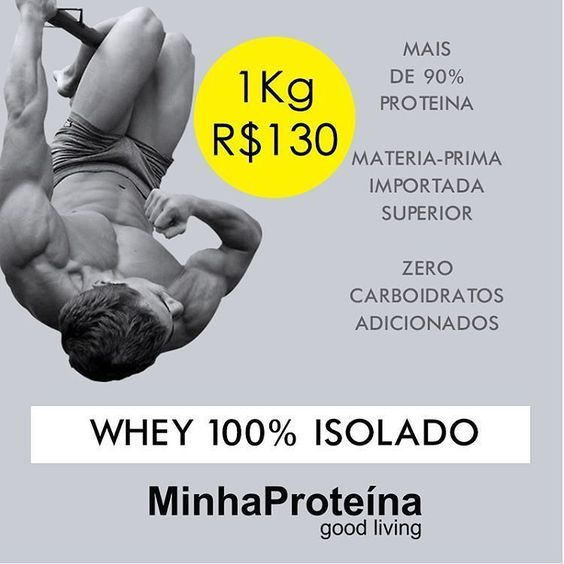 Boa tarde and a good afternoon to everyone  Whey Isolate Puro - Absolutely pure zero added carbs  somente Online :  http://ift.tt/1maXupz & WPC - 1KG R$100 | WPI - 1KG R$130 | WPH - 1KG R$190  Todos os produtos absolutamentente PUROS como sempre e enviados no mesmo dia.  Have a lovely weekend