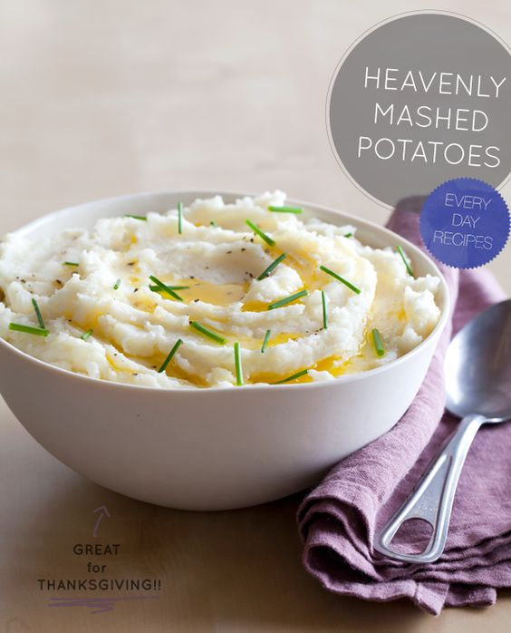 The best mashed potato recipe for Thanksgiving!