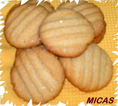 Biscoitos de garfo
