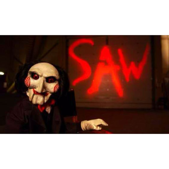 The entire Saw series