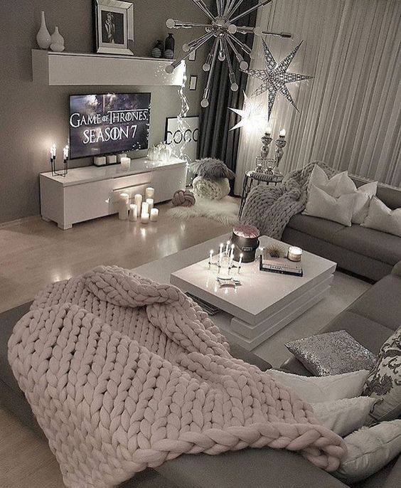 9 Inspiring Cozy Apartment Decor on Budget | Living room ...