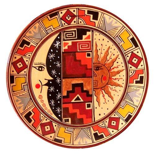 cusco geometric designs and plates on pinterest